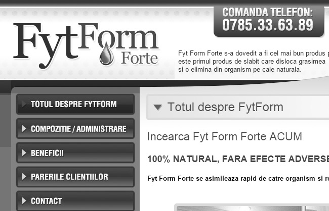 Fyt Form Syrup